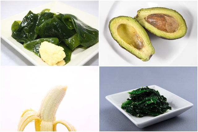 塩抜きダイエットにおすすめの食材