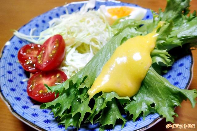 MCTオイルのマヨネーズサラダ