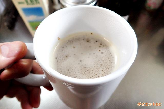 MCTオイル入りミルクコーヒー