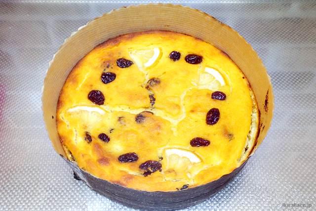 レモン酢入りのおからケーキ